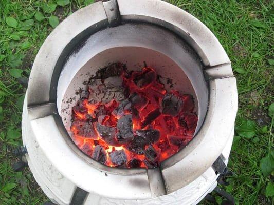 Перше обпалювання тандиру