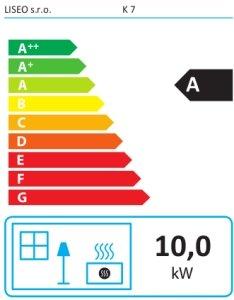 Класс энергоэффективности Liseo K7