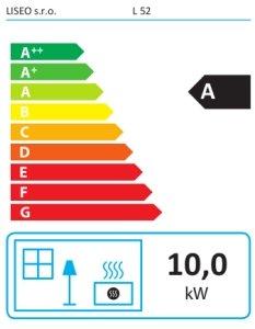 Класс энергоэффективности Liseo L52
