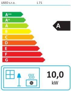 Класс энергоэффективности Liseo L71
