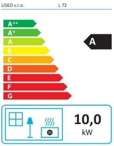 Класс энергоэффективности Liseo L72 Right