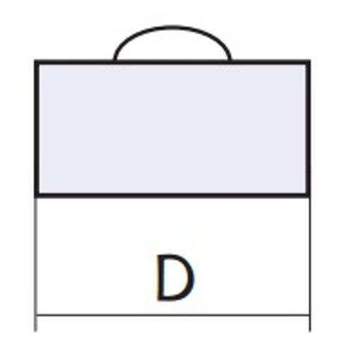 Схема заглушки для дымохода с нерж. стали Версия Люкс