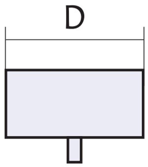 Схема лейки из нержавеющей стали Версия Люкс