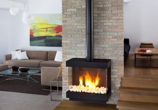 Камины газовые для квартиры