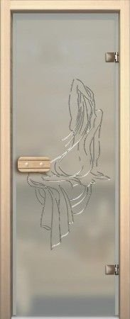 Двери для бани и сауны стеклянные